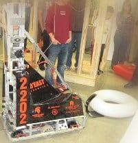 Robot With Inner Tube